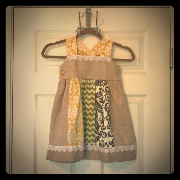 65ee49121 Owls and Bats Dresses   Little Girls Linen Dress   Poshmark